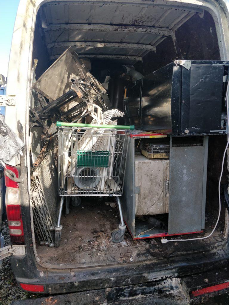 Loaded Get Rid Van