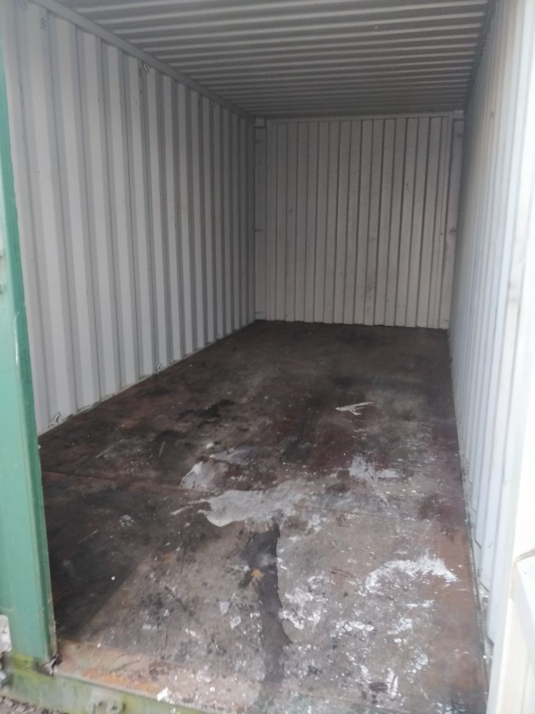 emptied storage container manchester