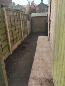 Completed Garden Clearance
