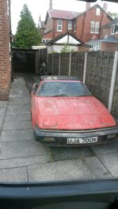 Car removed from Garage